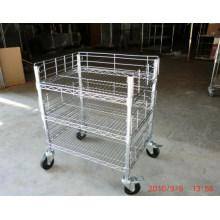 Trole ajustável do impulso do metal do cromo para a oficina e a fábrica