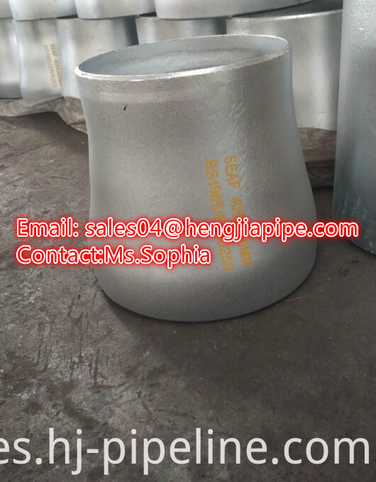 butt weld concentric reducer BE