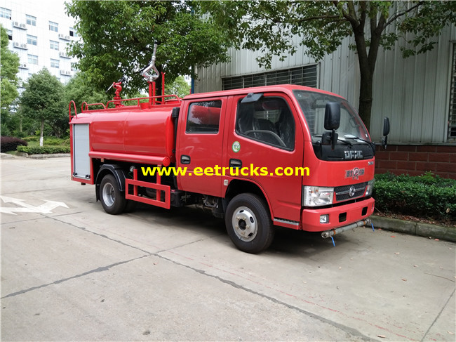 Emergency Fire Fighting Truck