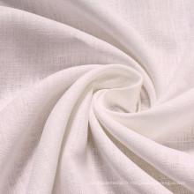 100% tissu de lin pur tissu de lin en couleur pure