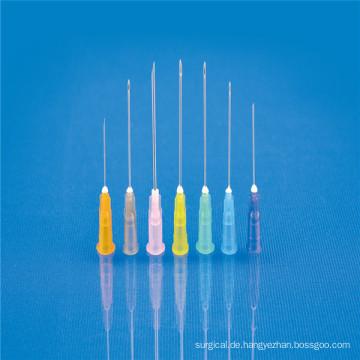 Wegwerfende hypodermatische Nadel 16g-30g