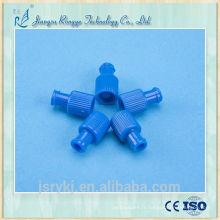 CE et ISO approuvé médical jetable BLUE Combi Spiral bouchon