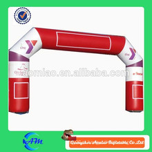 Arco inflável barato personalizado da entrada / linha de revestimento para a venda