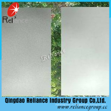 4-19mm Acid Etched Glass / Clear Frosted Glass Price