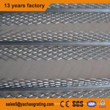 Perle de coin en métal enduit de PVC