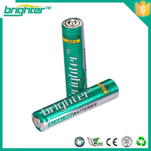 Billig und fein 1.5v aaa lr03 alkalische Batterie aus China