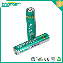 Bateria alcalina aaa lr03 de 1.5v barato e refinada da China