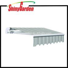 10'*8' Garden Balcony Patio Deck Awning / Sun Shade Rain Shelter canopy Aluminum Awning Parts