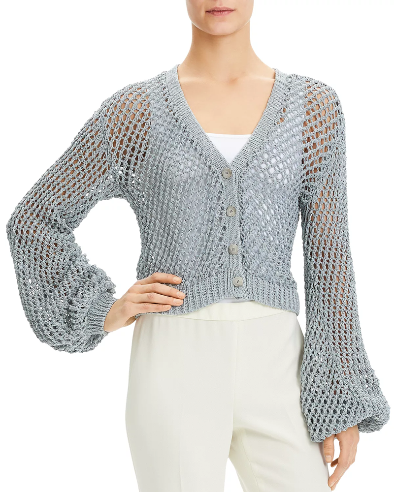 Cardigan Crop Top