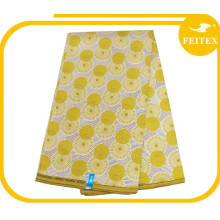 cotton/polyester fabric wholesale wax printed fabric african wax fabric for wedding dresses