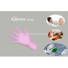 Одноразовые перчатки Защитные перчатки без пудры
