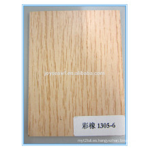 Chopo, madera dura, abedul y combi melamina madera contrachapada comercial