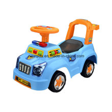 Venta caliente Police Swing Baby Walker Car con música ligera Souna