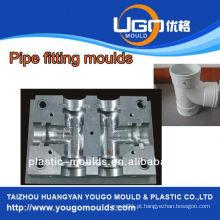 Fábrica de moldes plásticos de bom preço de alta qualidade para o tamanho padrão T moldação apropriada em taizhou China