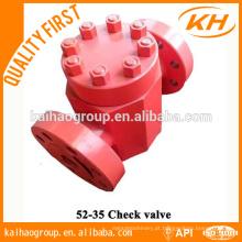 API 6A válvula de retenção de poço China Shandong