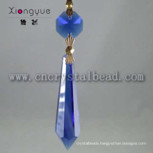 Blue Chandelier Pendent And Crystal Prisms For Sale