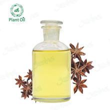 Óleo de anis estrelado natural puro para aplicação medicinal