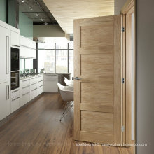 Simple Fashion Craftsman Style Kitchen Swing Door (S4-1010)