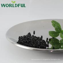 Humate potassique organique d'engrais organique cylindrique pour l'agriculture