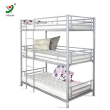 3 tier triple metal bunk bed Three adult bunk bed