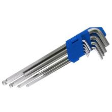 Набор ключей с шестигранной головкой с длинным рукояткой