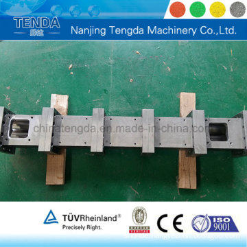 Tungsten Carbide Extruder Screw Barrel for Building Block System Extruder