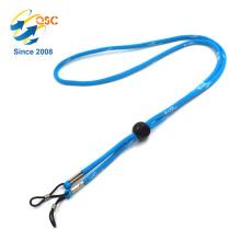 Lanières tubulaires tubulaires à la mode matérielles de polyester de support d'insigne