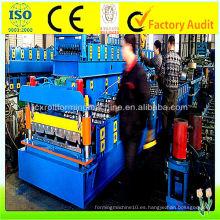 Máquina formadora de rollo IBR, 0.15mm - 0.8mm Roll formando equipo hecho en China