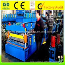 IBR Roll Forming Machine , 0.15mm - 0.8mm Roll Forming Equipment made in China