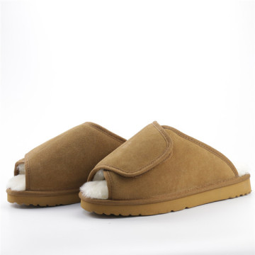 Warm Men's Adjustable Slippers In Winter