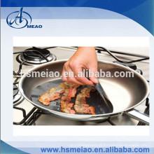 PTFE Non-Stick Round Cooking & Folha de cozimento para frigideira