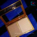 Échantillon gratuit personnalisé palette magnétique de fard à paupières en carton Logo blanc