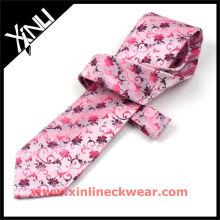 Nueva moda Pink Silk Ties