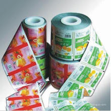 Gelee-Plastikfilm / Gewohnheit druckte das Gelee-Verpacken / Nahrungsmittelrollen-Film