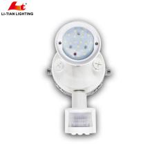 2018 светодиодный датчик безопасности производство Китай светодиодные света безопасности с датчиком 1x10w LED безопасности свет потока