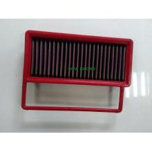 Filtro de ar de carro vermelho Perormance Painel de filtro para sistema de admissão de ar