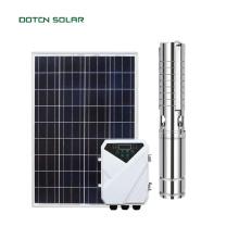 Pompe solaire à puits profond à énergie solaire hors réseau