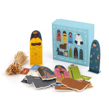 Promotional Educational toys game set dress up & learn 3D magnetic puzzle for kids