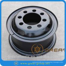 Spritzlackierung Stahlfelge 6.50-15 für Gabelstapler