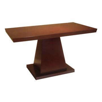 Mesa de madeira maciça de mesa de jantar para móveis de hotel