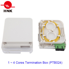 Boîtier de terminaison optique FTTH 1 ports pour adaptateurs Sc
