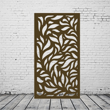 Custom Laser-Cut Decorative Metal Panels