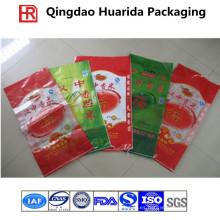 Bolso tejido personalizado de los PP para el alimento / el fertilizante del animal doméstico con la impresión colorida