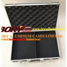 Hochwertige Metall-Aluminium-Aktentasche