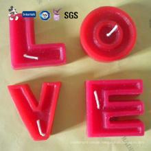 Valentine or Wedding Romantic Candle Set