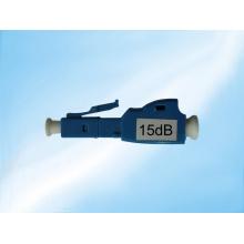 LC / Upc Singlemode-Stecker zu weiblichem Faser-Optikabschwächer
