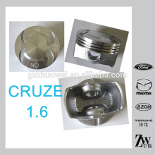 Bom desempenho GM CRUZE 1,6 carro pistão do motor set fabricados na China