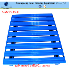 Palete de Aço Inoxidável Empilhável 1200X800X130