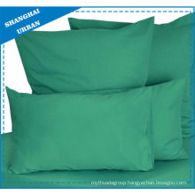 Solid Color Green Cotton Bedsheet