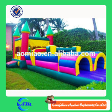 cheap inflatable obstacle course/inflatable pool obstacle